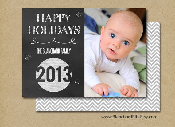 Happy Holidays Photo Holiday Cards