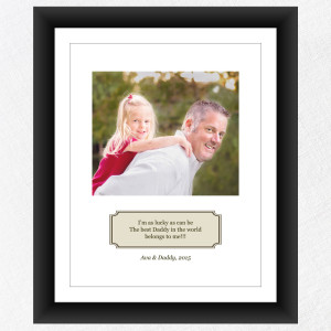 Fathers Day Lucky Best Dad mockup color