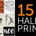 15 Free Halloween Printables